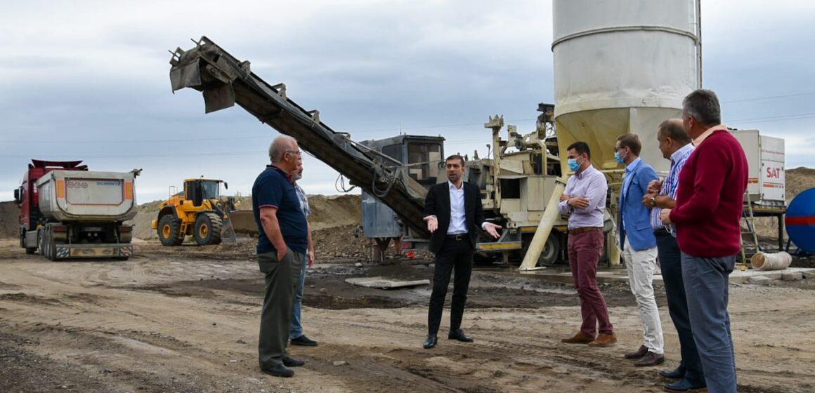 VIDEO | Săptămâna viitoare începe turnarea asfaltului pe Drumul Nordului