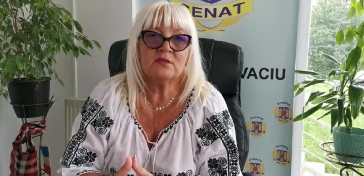 VIDEO | Senatorul Severica Covaciu îi cere ministrului Agriculturii să ia măsuri pentru a-i sprijini pe fermieri