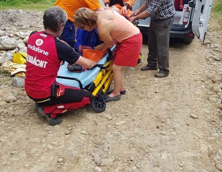 VIDEO   Două acțiuni de salvare derulate concomitent de Serviciul Public Județean Salvamont Maramureș, în zone diferite ale județului