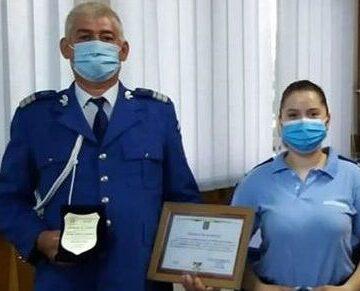 I-a predat fiicei sale ștafeta în Jandarmeria maramureșeană