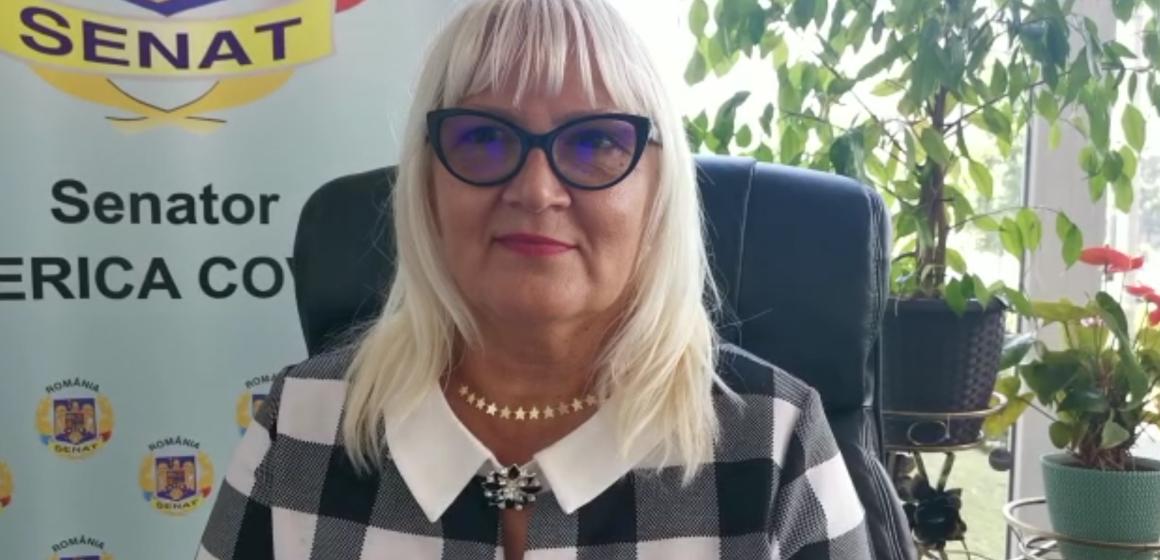 VIDEO   Senatorul PMP, Severica Covaciu, interpelări în sprijinul elevilor și studenților