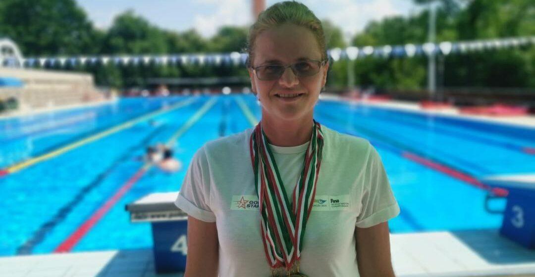 VIDEO   10 medalii obținute de Gold Stars Baia Mare la Campionatul Național de Înot Masters, din Ungaria