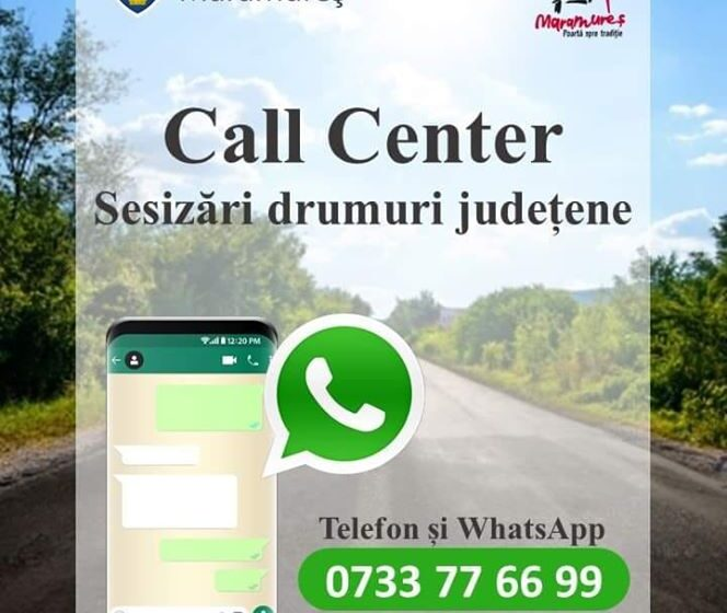 VIDEO | Call center pus la dispoziția cetățenilor nemulțumiți de starea drumurilor din Maramureș