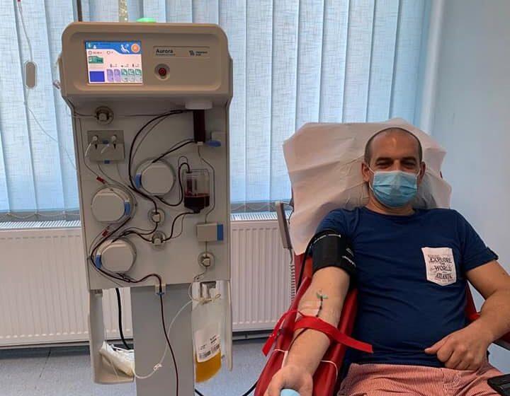 VIDEO | O șansă în plus la viață, oferită la un donator la plasmă