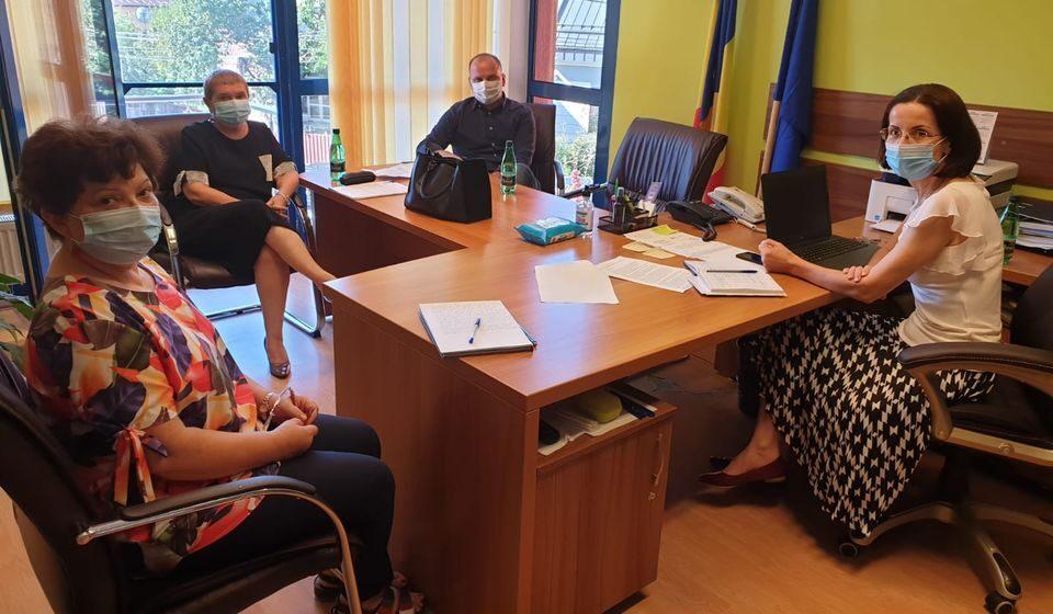 Întâlnire de lucru în vederea pregătirii noului an școlar