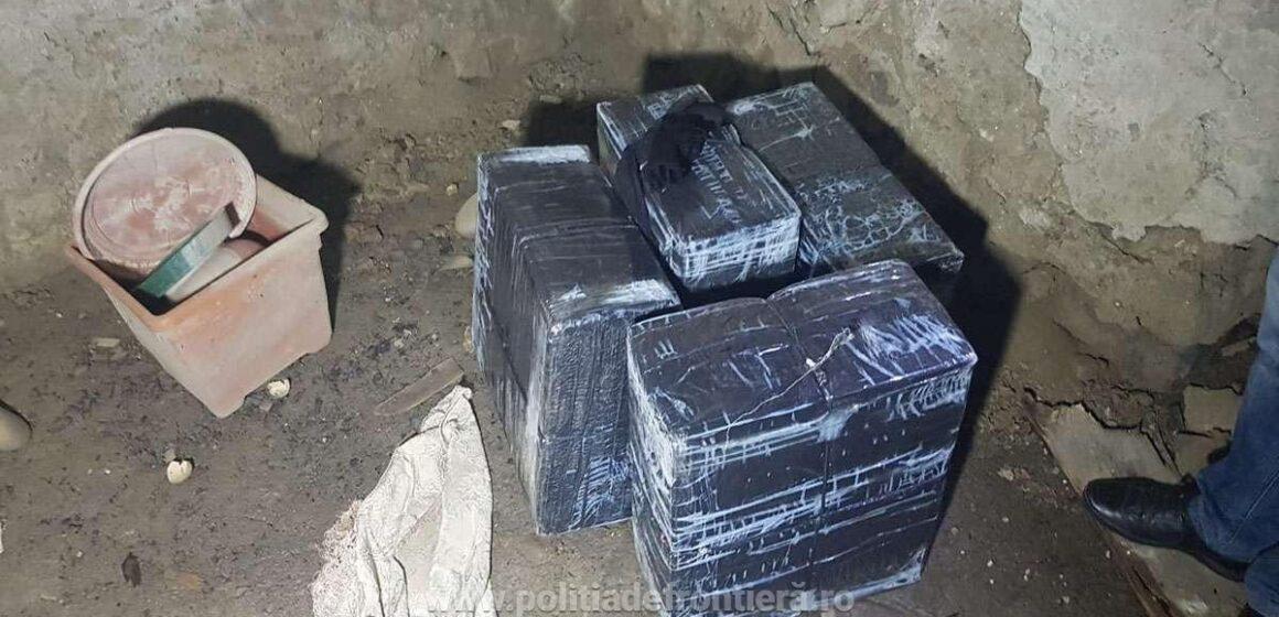 Ţigări în valoare de 23.400 lei, confiscate la frontiera de nord a României