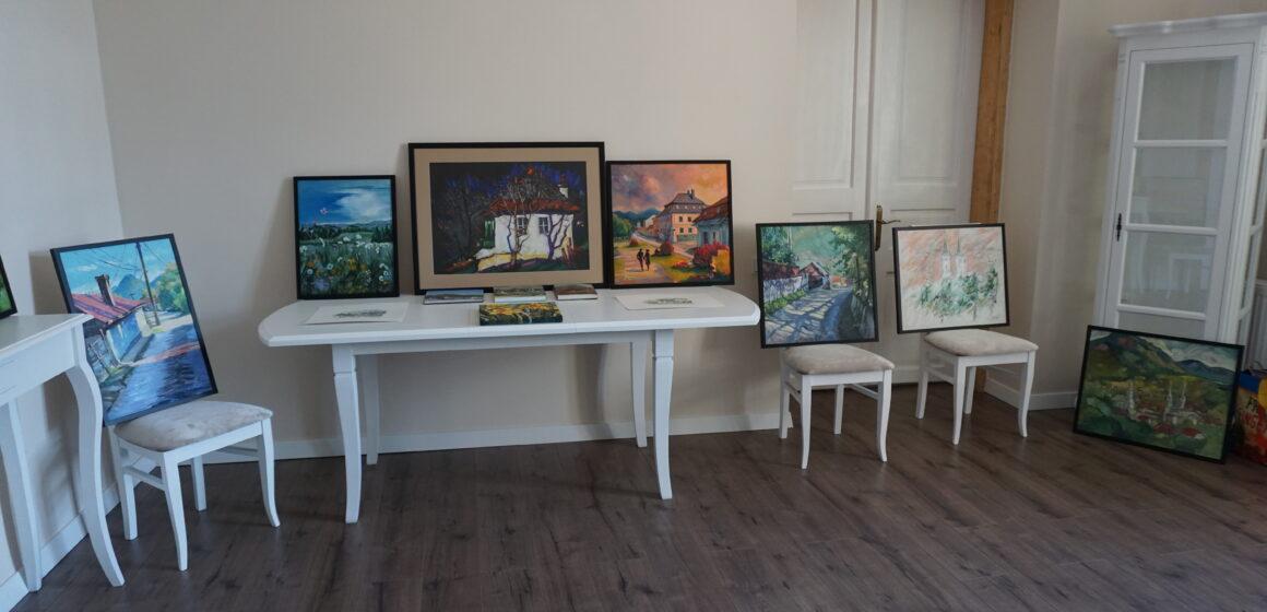 Casa de Cultură reabilitată din Baia Sprie a găzduit primul eveniment, o expoziție de pictură remarcabilă