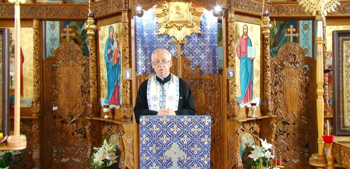 """VIDEO   PROMO   Preotul Nicolae Lauruc la emisiunea """"Cuvânt de învățătură"""" de la TV Sighet"""