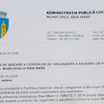 PNL Maramureș respectă legea, indiferent de împrejurare.