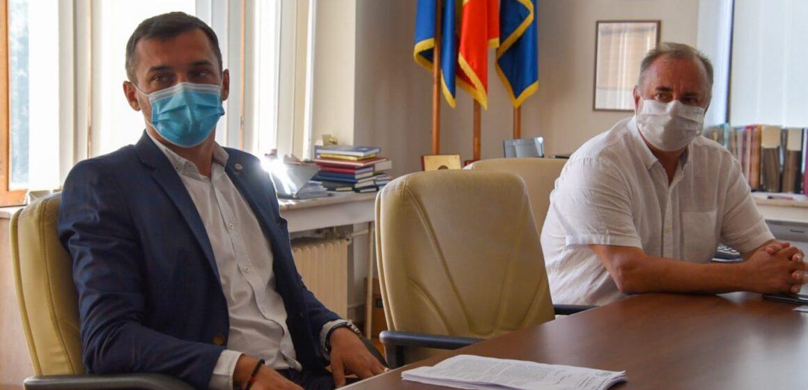 """Președintele Consiliului Județean Maramureș, Gabriel Zetea i-a primit la discuții pe membrii sindicatului """"Cartel Alfa"""""""