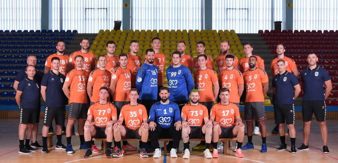 VIDEO | Echipa masculină de handbal a CS Minaur se pregătește pentru startul sezonului