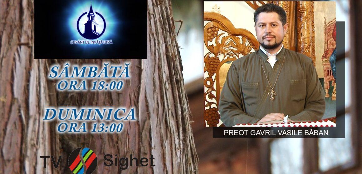 VIDEO | Promo TV Sighet | Preotul militar Gavril Vasile Băban, despre duminica a XVIII-a dupa Rusalii-Pescuirea Minunată