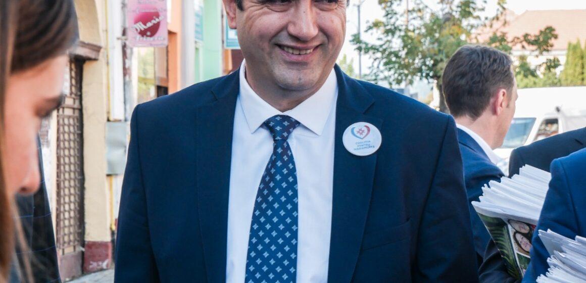Vasile Moldovan, noul primar al Sighetului