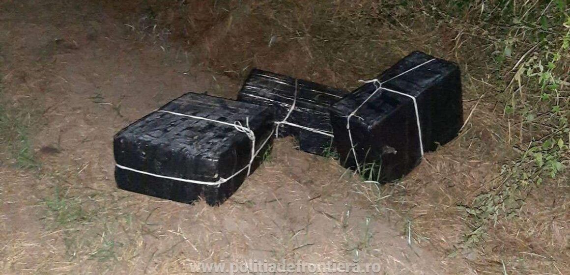 VIDEO | Țigări s-au găsit, contrabandiști ba. S-au tras și focuri de avertisment, dar degeaba