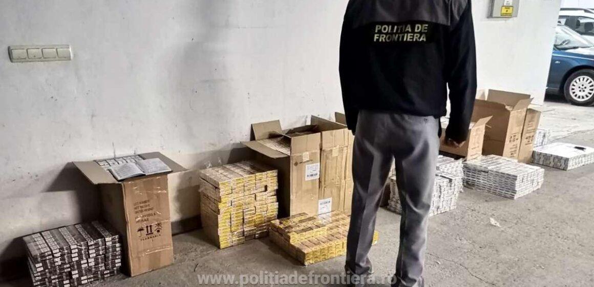 Țigări s-au găsit, contrabandiști nu