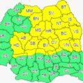 Cod galben de ploi și inundații în jumătate din țară