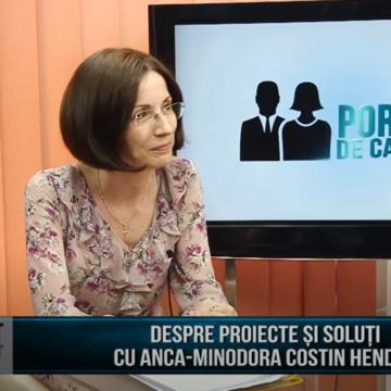 PORTRET DE CANDIDAT | DESPRE PROIECTE ȘI SOLUȚII CU ANCA-MINODORA COSTIN HENDEA