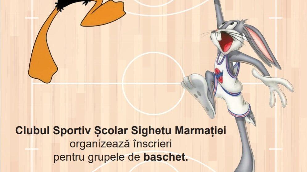 VIDEO   Clubul Școlar Sighetu Marmației face înscrieri la grupele de baschet, fotbal, atletism, volei și box