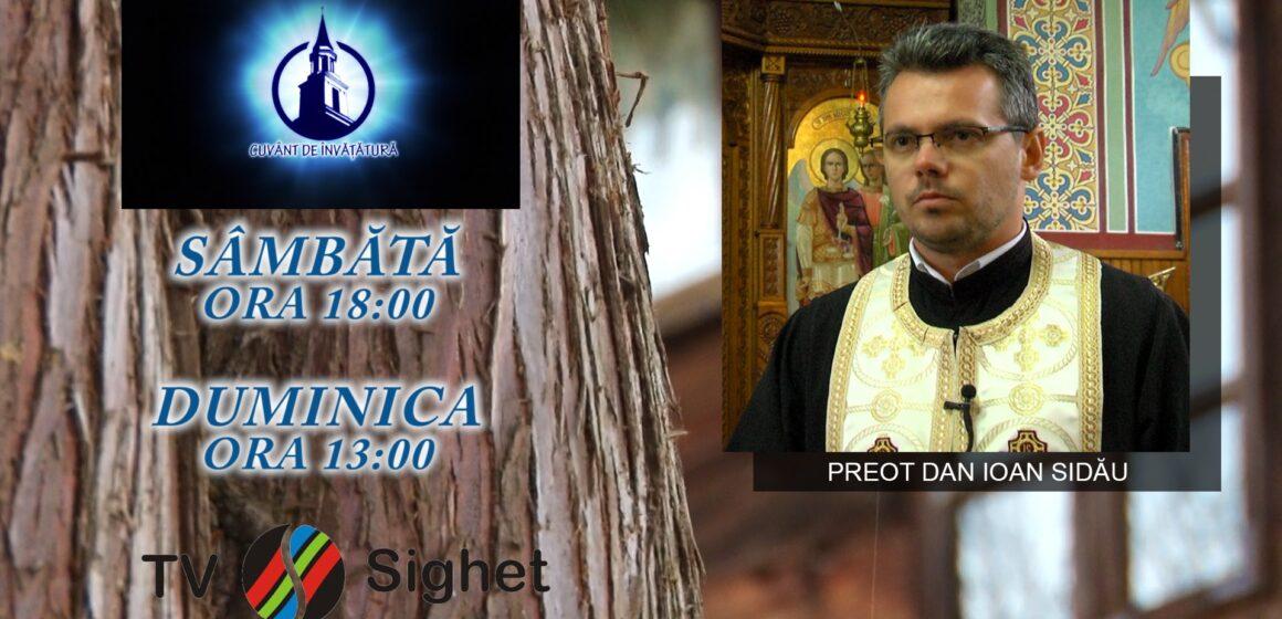 """VIDEO   PROMO   Religia pe înțelesul copiilor la emisiunea """"Cuvânt de învățătură"""" de la TV Sighet"""