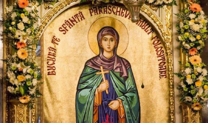 VIDEO | În fiecare an, la 14 octombrie, Biserica Ortodoxă de pretutindeni prăznuiește pe Cuvioasa Maică Parascheva