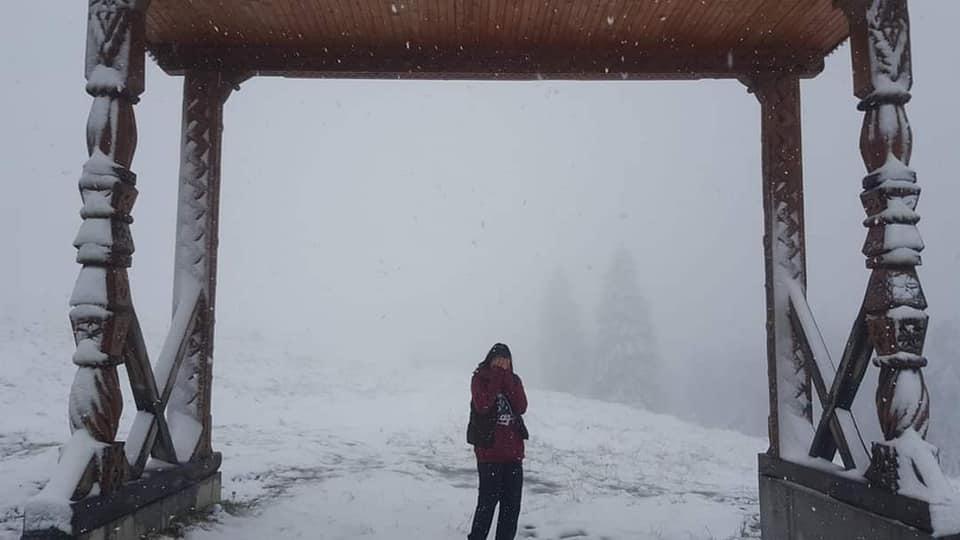 VIDEO | A nins în Maramureș, iar în continuare se anunță vreme schimbătoare