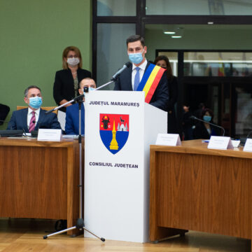 VIDEO | Ionel Bogdan a depus jurământul pentru preluarea mandatului la conducerea Consiliului Județean Maramureș