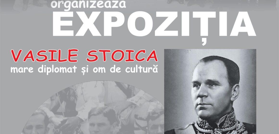 VIDEO   Expoziție dedicată lui Vasile Stoica, mare diplomat și om de cultură
