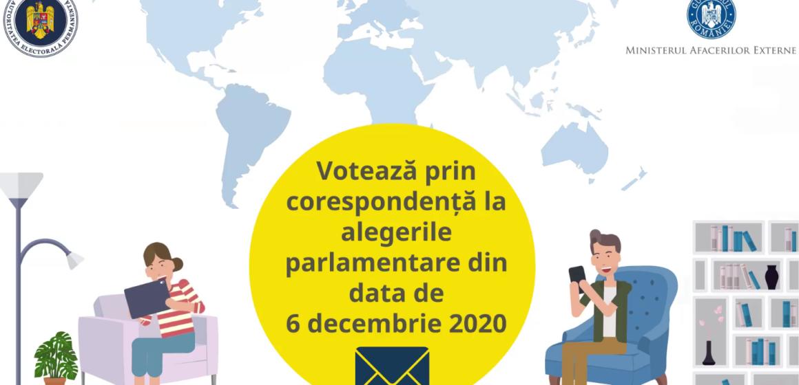 VIDEO   AEP: A mai rămas doar o zi pentru înregistrarea ca alegători prin corespondență la alegerile parlamentare