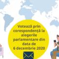 AEP: A mai rămas doar o zi pentru înregistrarea ca alegători prin corespondență la alegerile parlamentare