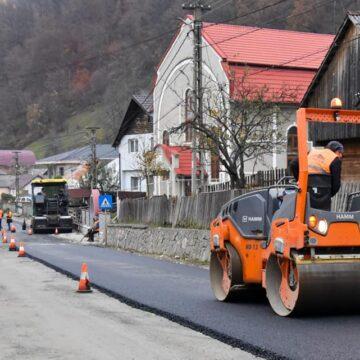 Se dorește extinderea lucrărilor de asfaltare cu 4 km pe DJ 187 până în cătunul Luhei