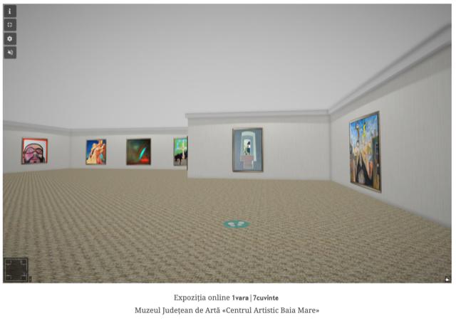 """Expoziție virtuală """"Povești în șapte cuvinte""""- la Muzeul Județean de Artă """"Centrul Artistic Baia Mare"""""""