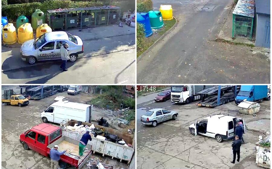 VIDEO | Zece camere de supraveghere amplasate în mai multe locații din Baia Mare
