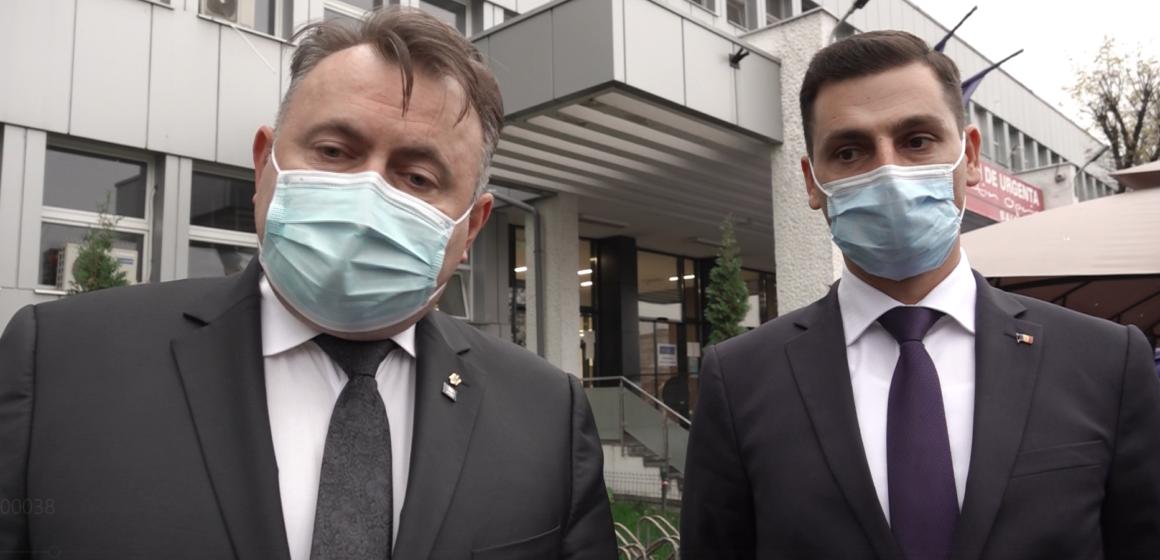 VIDEO | Ministrul Sănătății, vizită de lucru în Maramureș