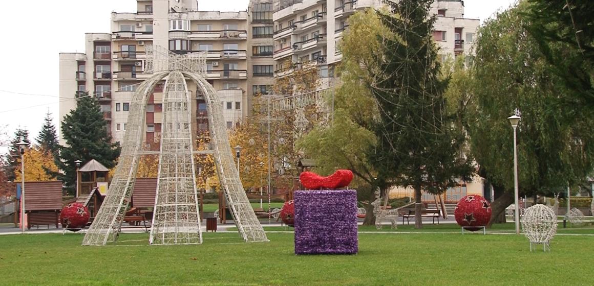 VIDEO | Baia Mare a început pregătirile pentru ornamentarea unor zone din oraș cu ocazia sărbătorilor de iarnă