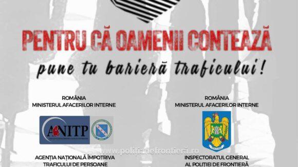 Campanie de prevenire a traficului de persoane