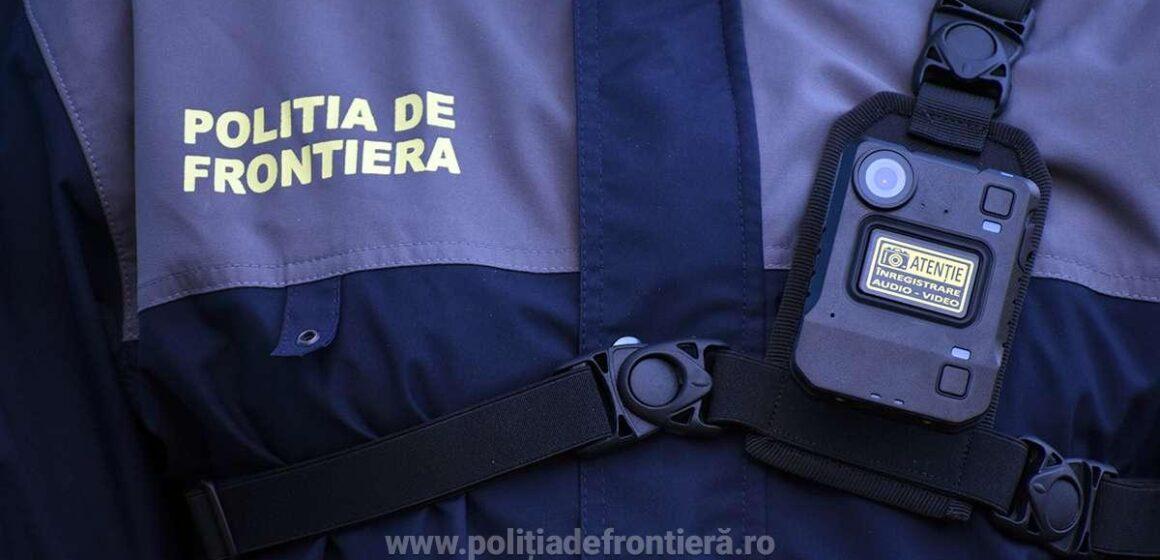 VIDEO   Poliţia de Frontieră a achiziţionat aparate tip body camera pentru a fi utilizate în misiunile de supraveghere şi control la frontieră