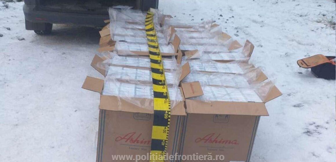 Țigări de contrabandă de peste 146.000 de lei confiscate