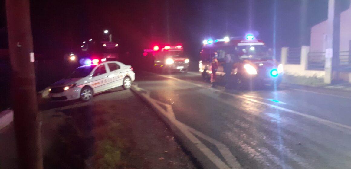 VIDEO | 9 persoane au fost rănite în urma unui accident rutier produs în Valea Chioarului