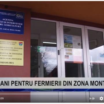 VIDEO |  BANI PENTRU FERMIERII DIN ZONA MONTANĂ