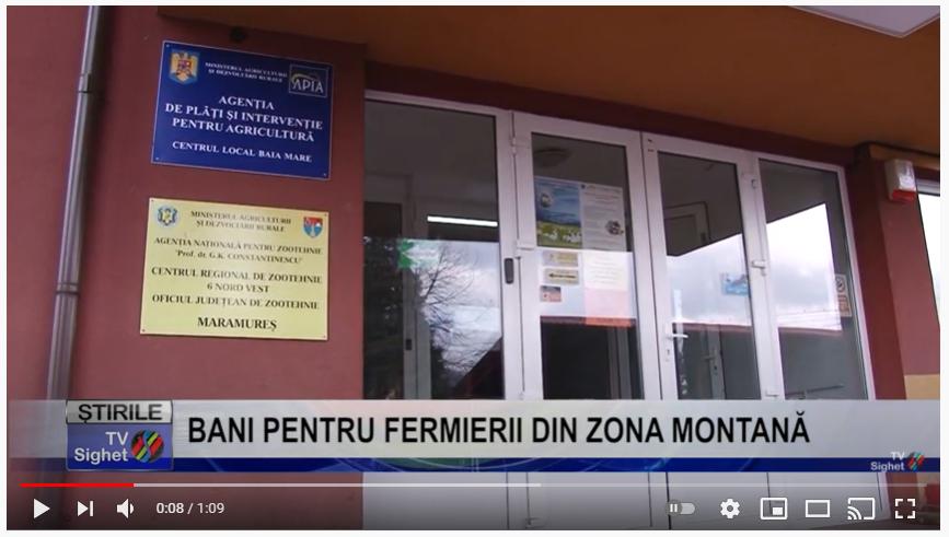 VIDEO    BANI PENTRU FERMIERII DIN ZONA MONTANĂ