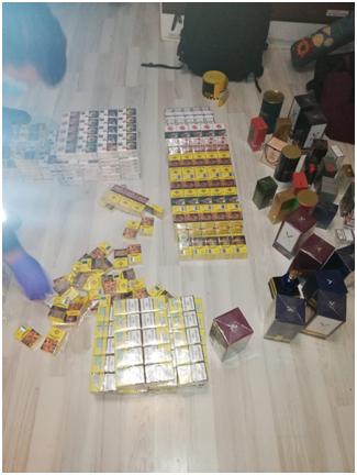 VIDEO   Percheziţie domiciliară desfăşurată în Sighetu Marmaţiei