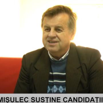 VIDEO | NICOLAE MIȘULEC SUSȚINE CANDIDAȚII USR PLUS