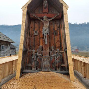 VIDEO   Troița Rednicenilor din Berbești a fost restaurată
