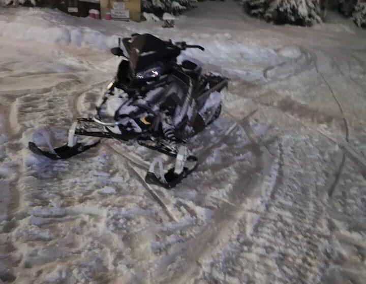 VIDEO | Accident cu două snowmobile la Cavnic