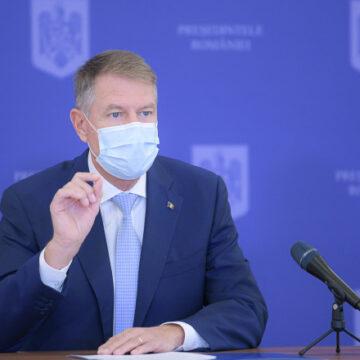 VIDEO | Klaus Iohannis, despre campania de vaccinare și despre relansarea economică