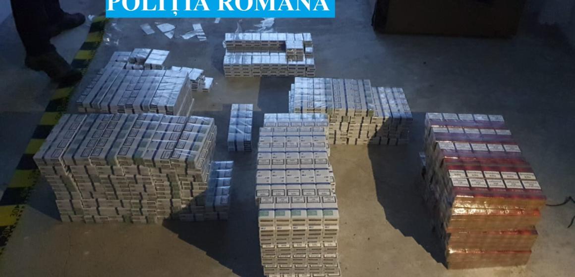 MARAMUREȘ: Percheziții la persoane bănuite de contrabandă cu țigări