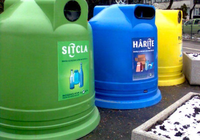 Sighetenii sunt rugați să colecteze selectiv deșeurile de sticlă