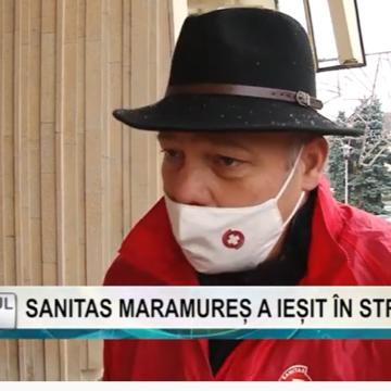 REPORTAJUL ZILEI   SANITAS MARAMUREȘ A IEȘIT ÎN STRADĂ
