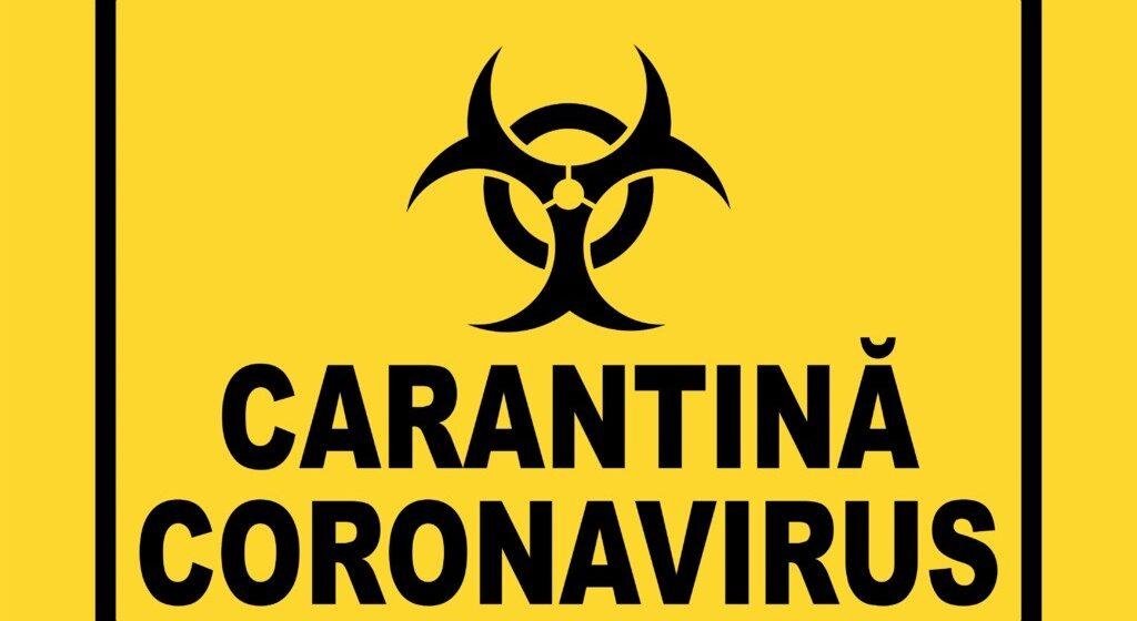 VIDEO   Rona de Jos intră în carantină