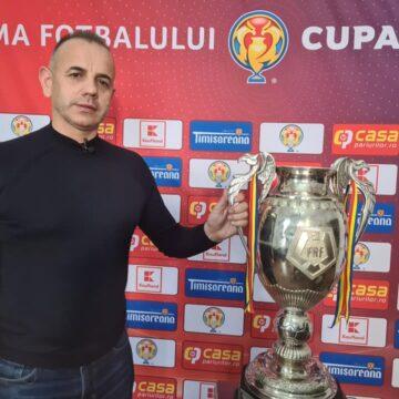 VIDEO | Cupa României, în traseu itinerant prin țară. Faimosul trofeu a ajuns și în Bârsana